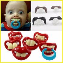 Chupetas Engraçadas Dente Chupetas Diferentes Criança Neném