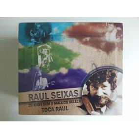 Box 6 Cds + Dvd - Raul Seixas - 25 Anos Sem O Maluco Beleza