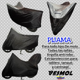 Pijama Moto Con O Sin Paquetero Baul Carpa Moto