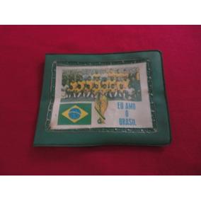 Carteira Seleção Brasileira Copa De 1970 De Futebol