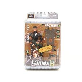 Coleccionable Figura Gi Joe Sigma 6 Soldado Rata Del Túnel