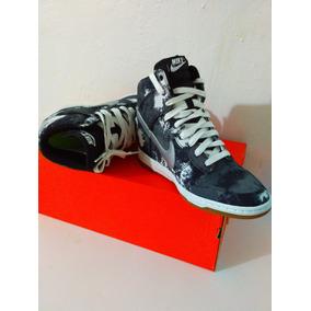 Bota Nike Dunk Sky Hi 528899302 Tenis Gris 25mx Envio Gratis