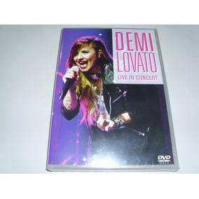 Dvd Musical Demi Lovato Live In Concert