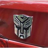 Transformer Cromado 3d Calco Fiat Volkswagen Renult Peugeot