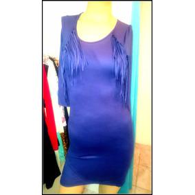 771309645 Vestido Con Flecos Largos Talle U - Vestidos U de Mujer en Mercado ...