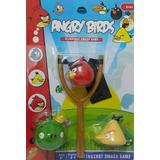 Bonecos Angry Birds De Vinil Com Estilinque Lançador