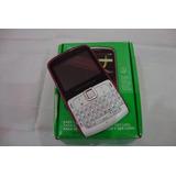 C13-celular Motorola Ex115 Motokey Rosa E Branco Com Defeito