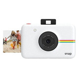 Polaroid Instantánea Snap Cámara Digital (blanco) Con Zink Z