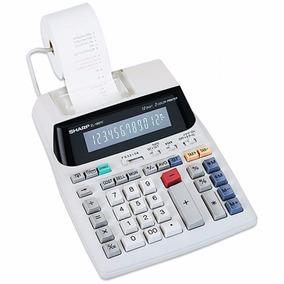 Calculadora De Mesa Sharp C/ Bobina El-1801v / Promoção