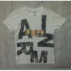 Camisa Masculina Armani Exchange Malha Pima - Original
