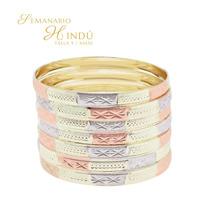 Aro De La India Oro Laminado. Lote De 100 Semanarios.