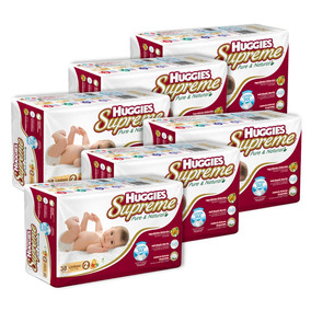Caja De Huggies Supreme P&n E2 6 Paquetes - 228 Pañales