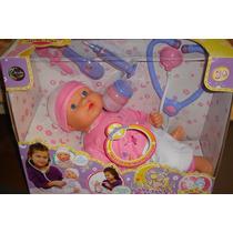 Sensasional Muñeca De La Línea Jeidy Toys. Habla, Accesorios