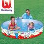 Pileta Rigida Enrollable Bestway 152 X 25 Cm Bebe Niños - R2