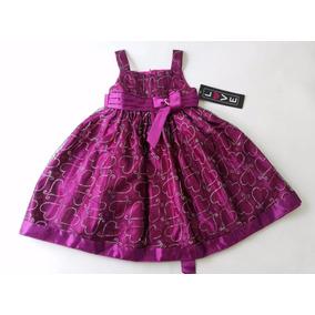 Vestido Infantil Nova Importada (4years) Com Etiqueta