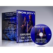 Dvd Bon Jovi - Mtv Vh1 Unplugged 2007