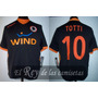 Camiseta De La Roma De Italia Kappa 100% Original 10 Totti !