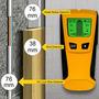 3 En 1 Stud Tubo Metal Madera Ca Alambre Vivo Detector Find
