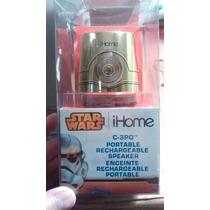 Bocina Ihome Star Wars. C-3po