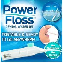 Irrigador Oral Power Floss Limpeza Profunda Dente Aparelho -