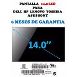 Pantalla 14.0 Led Toshiba Satellite C40d C40t-asp4262fm C645