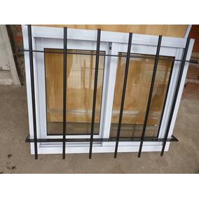 Ventiluz De Aluminio Blanco 60 X 40 Con Reja