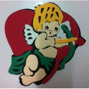 Figura De Foamy Cupido Angel Amor Fomi