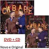 Dvd + Cd Leonardo E Eduardo Costa - Cabare 2 Original
