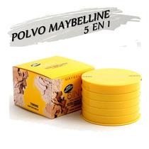 Polvo Compacto Maybelline 5 En 1.
