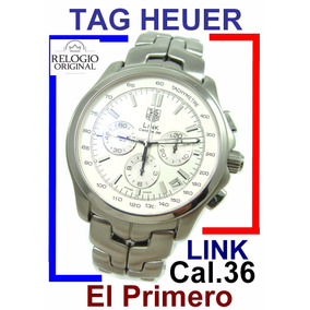 Tag Heuer Link Chronograph (zenith)- Calibre 36 Aço-aço !!!
