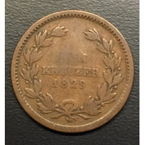 Ale153 Moneda Alemania Baden 1 Kreuzer 1829 F Ayff