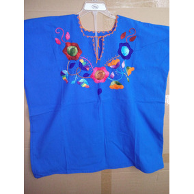 Blusa Bordada Típica Blusa Para Mujer Artesanía