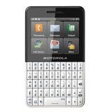 Celular Motorola Ex118 Motokey Com Wifi, Mp3, Camera - Preto