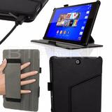 Estuche Cuero Flip Sony Xperia Z3 Tableta Compact Protector