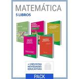 Combo Educación Matemática 5 Libros 2 Revistas (ne)