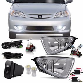 Kit Farol Milha Honda Civic 2005 + Xenon 8000k + 4 Brindes