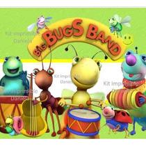 Kit Imprimible Big Bus Band Baby Tv Candy Bar Tarjetas