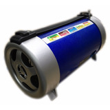 Caixa De Som Bazooca Bazuca Recarregavel Com Lanterna Mp3