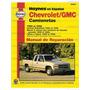 Haynes Manual Chevrolet Gmc Camionetas 1988-1998 Pdf