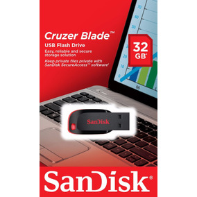 Pendrive Sandisk 32gb Totalmente Original Garantia