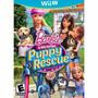 Barbie And Her Sisters Puppy Rescue Wii U Nuevo Original
