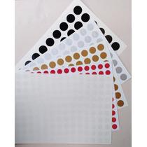 Adesivos Circulo De Vinil Para Fechar Envelopes/embalagens