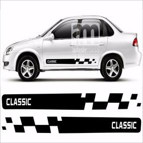Adesivo Kit Faixas Lateral Para Corsa Classic Cla-04