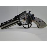 Relogio Despertador De Cabeceira Revolver Taurus
