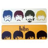 Kit 2 Placa Decorativa Beatles P/ Salas Bares Churrasqueiras