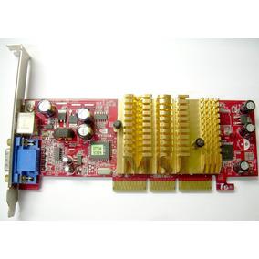 Placa De Video Agp 8x Msi Geforce Mx4000 64mb Svga/s-vídeo