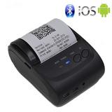 Impresora Mini Portátil Térmica Celular Pc Bluetooth Bateria