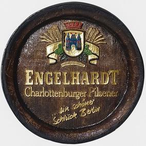 Barril Decorativo Grande Em Fibra - Engelhardt Whisky