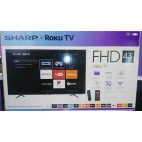 Pantalla Sharp 43 System Roku Full Hd