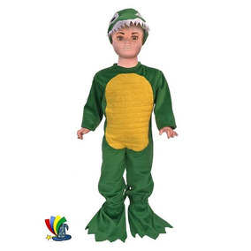 Disfraz De Cocodrilo Primavera Niño Niña Festival Escolar